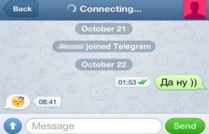 Функция Joined Telegram
