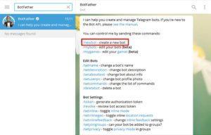Создание бота на php в Телеграмек