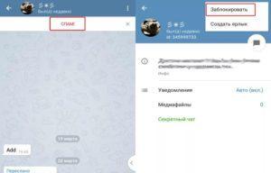 Можно ли заблокировать спам в Телеграме