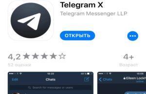 Как установить Telegram X на Айфон