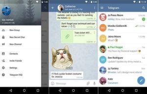 Как сделать скриншот в Telegram