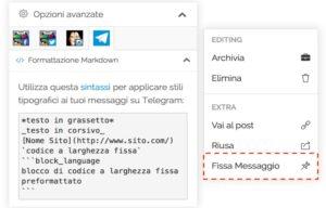 Зачем нужен Markdown в Telegram