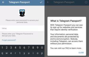 Зачем нужно Telegram Passport