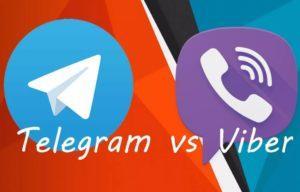 Что лучше Telegram или Viber