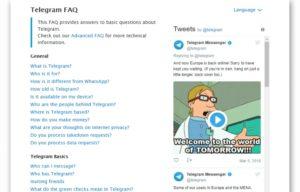 Что такое Телеграм FAQ
